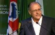Alckmin diz que prêmio sobre gestão hídrica é 'modéstia à parte, merecido'