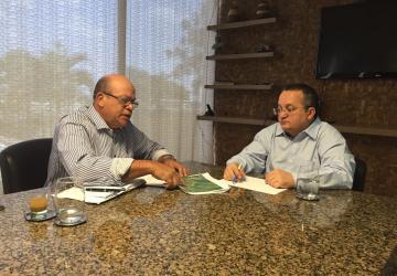Ouro é pauta de reunião do Prefeito Donizete com Governador Pedro Taques