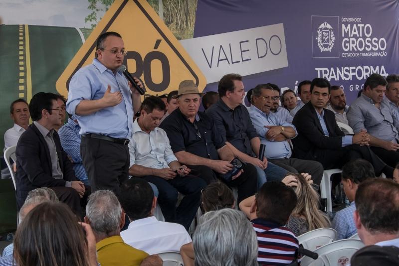 PRÓ-ESTRADAS : Governador garante que recursos estão assegurados