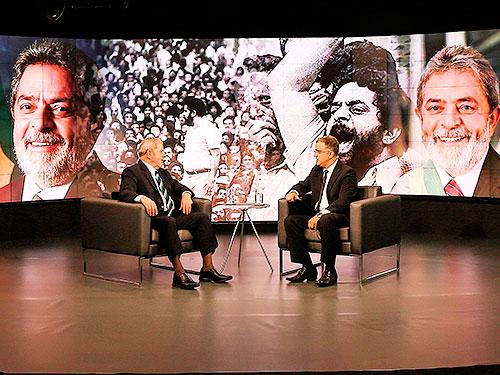 Em entrevista ao SBT, Lula afirma que não tem medo de ser preso.