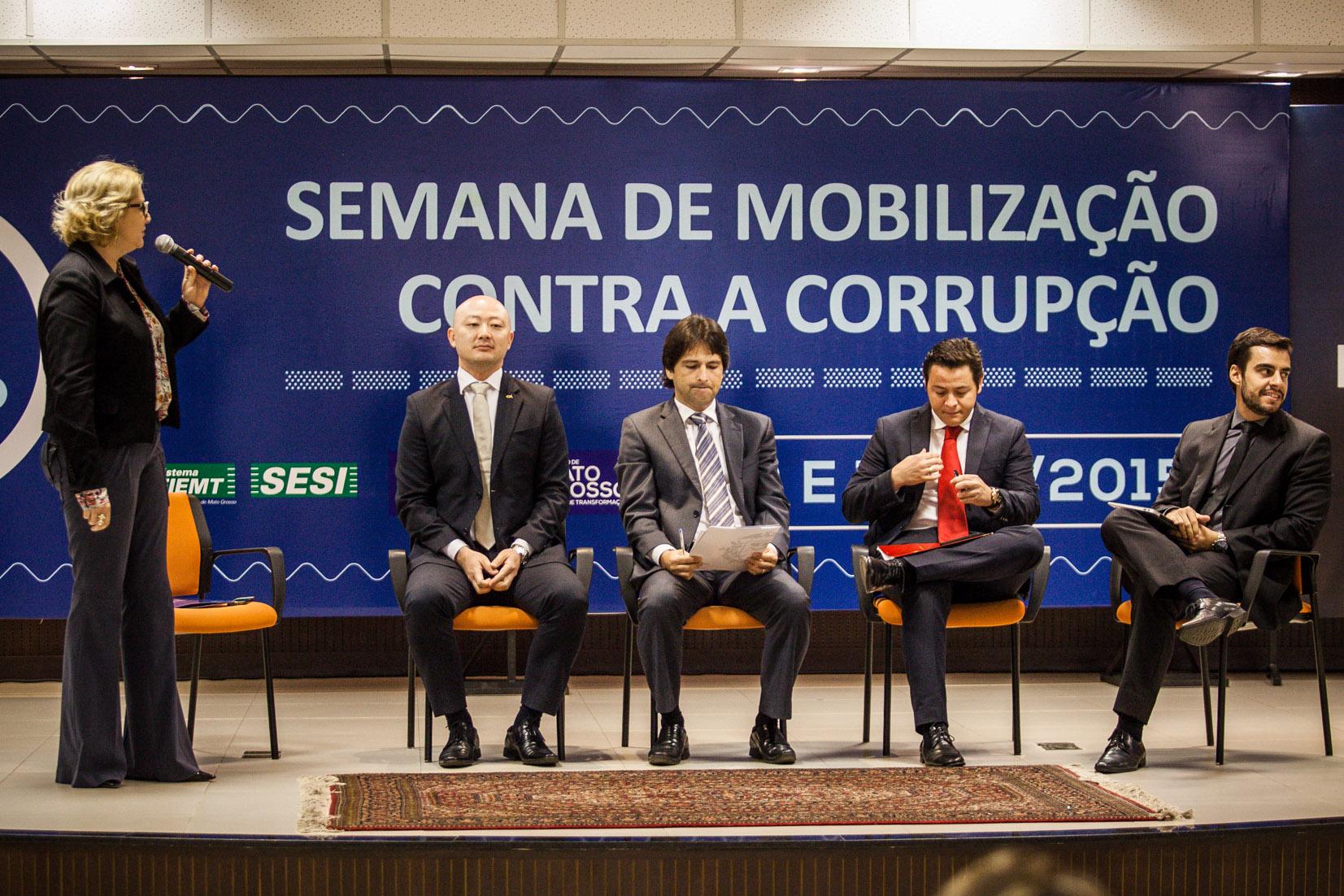 Governo abre Semana de Mobilização Contra a Corrupção
