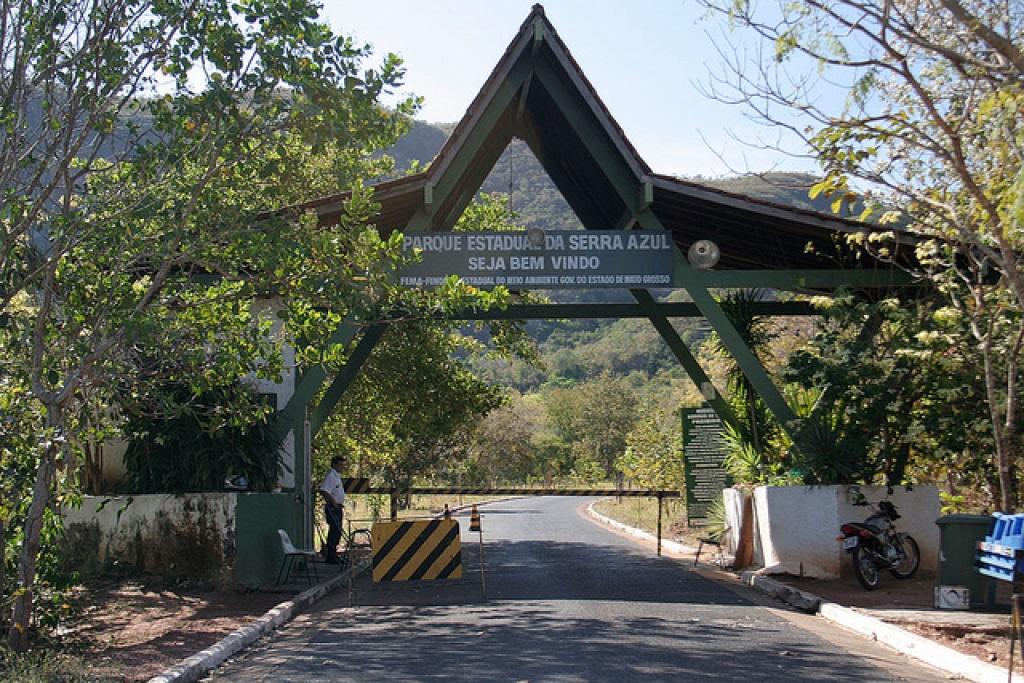 Barra do Garças : Sema reabre dois atrativos do Parque Estadual Serra Azul