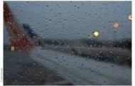 Chuva provoca estragos pelo país e cancelamentos de voos