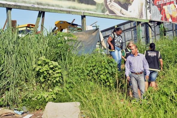 Cuiabá : Ação integrada retira usuários de drogas de áreas verdes e oferece reabilitação