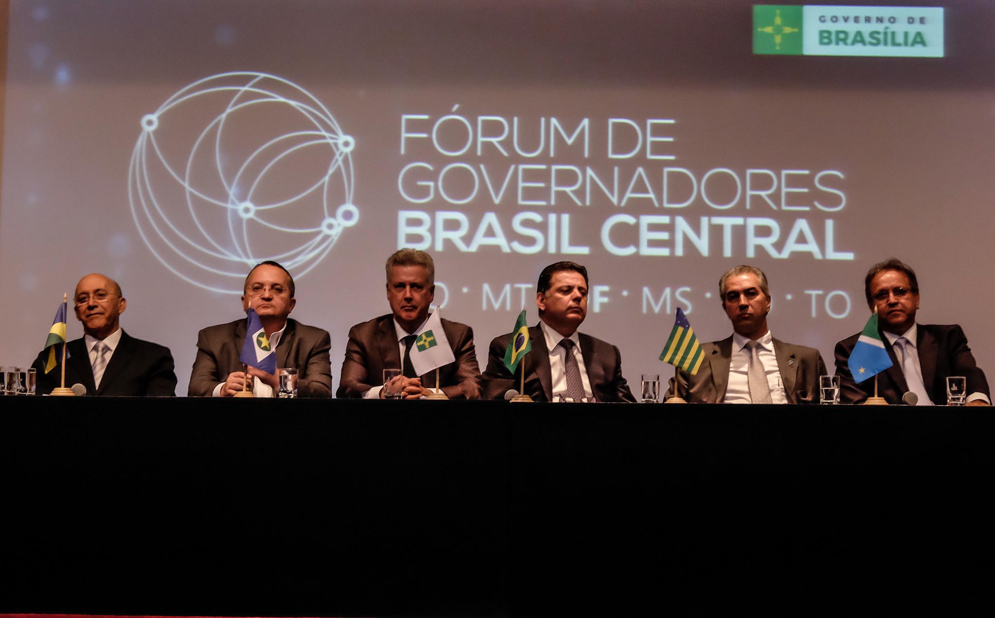 Brasil Central : Estados definem ações para promover desenvolvimento