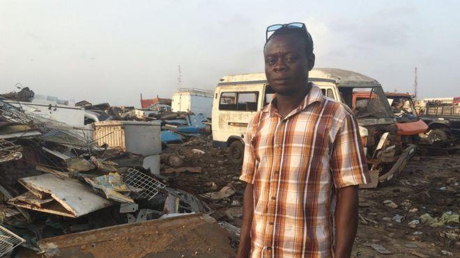 O país da África que se tornou um 'cemitério de eletrônicos'