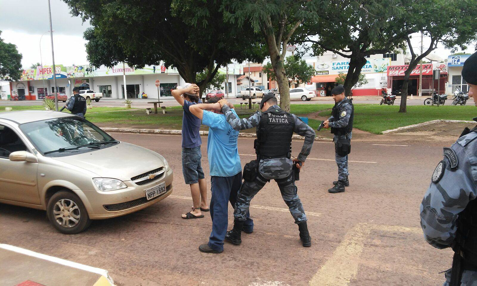 Repressão ao crime : Operação Carga Máxima leva 393 pessoas à prisão no interior de MT