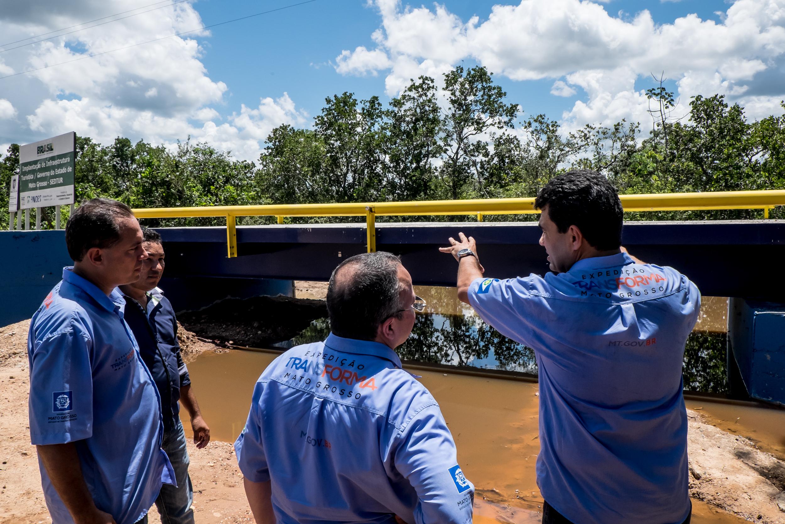 MT : Pró-Turismo investe R$ 119 milhões em 11 obras de infraestrutura