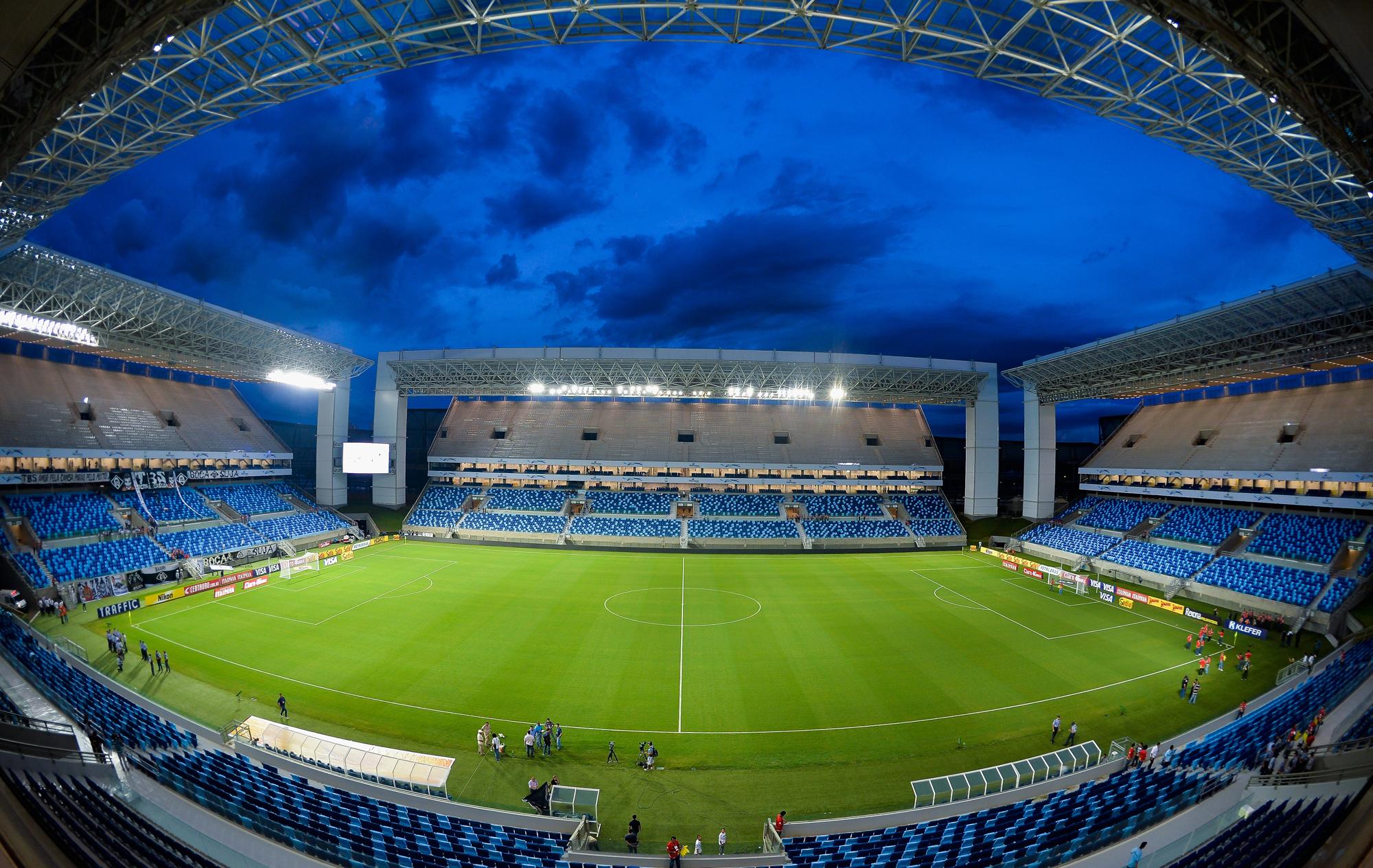 Obras da Copa 2014 : Empresa tem cinco dias para retomar obra da Arena Pantanal