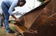 Dengue / Zika e Etc....Fiscais da Ordem Pública iniciam a aplicação de multas no Pedra 90