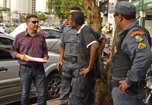 Órdem Pública / Blitz : Operação combate atividade ilegal de flanelinhas na Capital