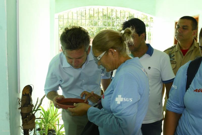 Prefeito Mauro Mendes anuncia leis mais rigorosas para combater o mosquito