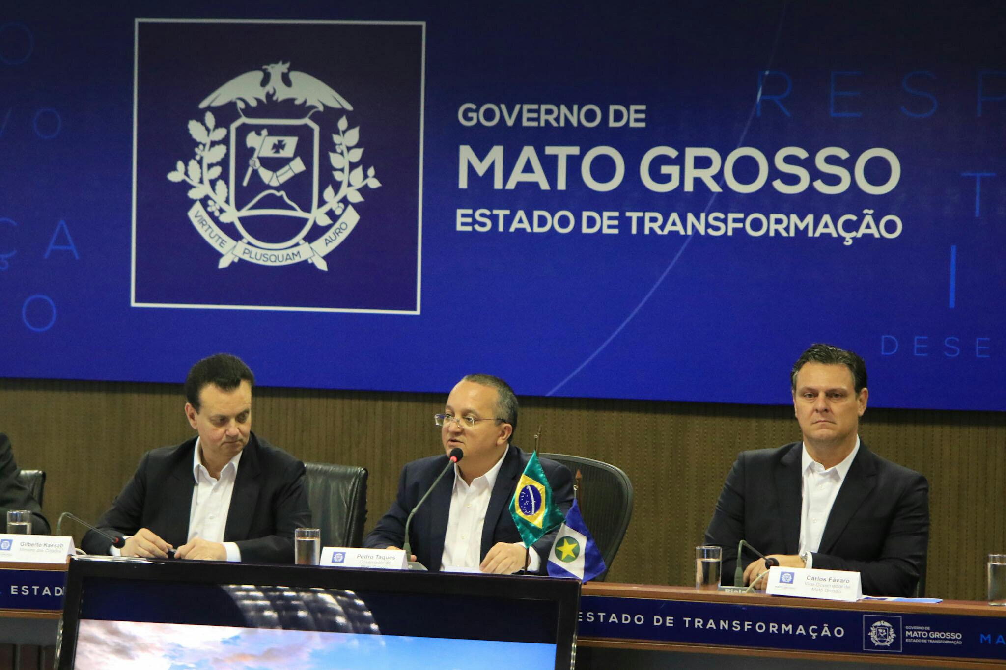 Cuiabá : Governo do Estado e Ministério das Cidades fecham parceria para trabalhar conclusão do VLT
