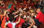 'Entrei para ajudar Dilma', diz Lula em protesto