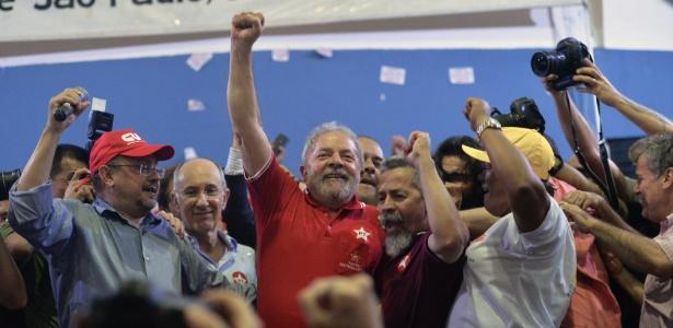 'Se me deixarem solto, viro presidente', diz Lula