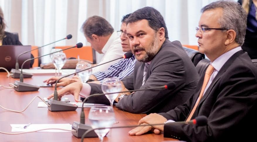 ALMT:Oscar defende revisão da Lei do ICMS em reunião com governo e FGV