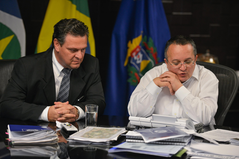 Governador e vice assumem Segurança e Sema, respectivamente