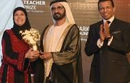 Palestina ganha 1 milhão de dólares em prêmio de melhor professora