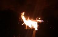 Incendio de grandes proporções destroi CESEC do Banco do Brasil