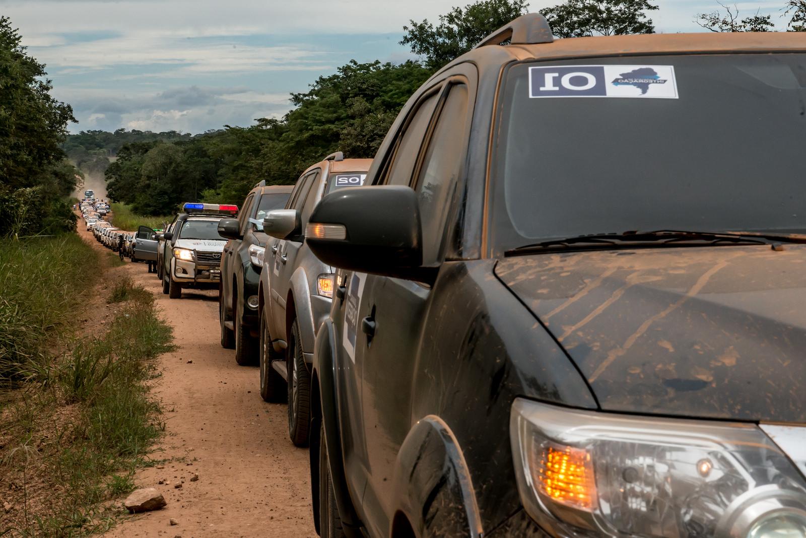Caravana da Integração deixa Bolívia e segue para o Chile