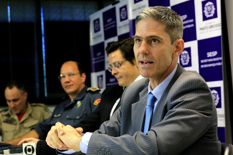 Rogers Jarbas toma posse como novo secretário de Segurança Pública