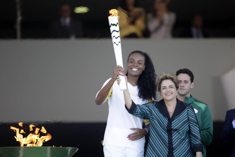 Dilma diz que crise política não afetará Jogos Olímpicos