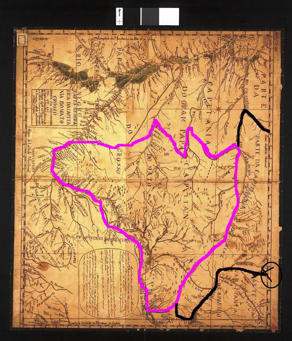 Qual surgiu primeiro? O Estado de Mato Grosso ou a cidade de Cuiabá?