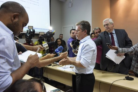 Mauro Mendes decreta intervenção na CAB Cuiabá