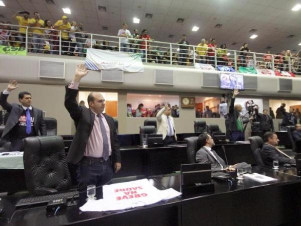 Mato Grosso: Deputados analisam hoje à tarde nova proposta da RGA