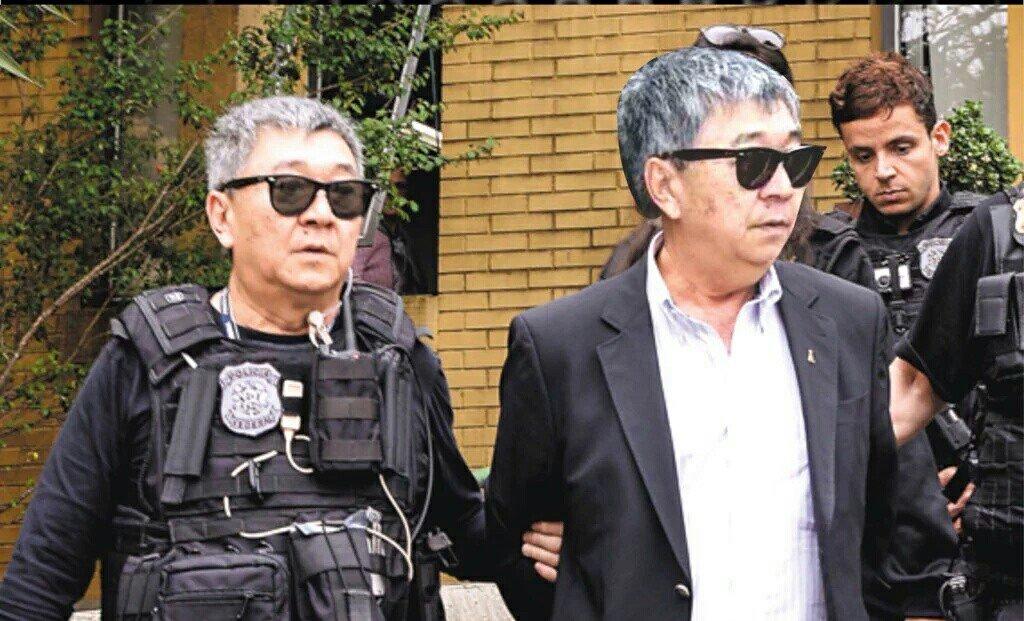 Com tornozeleira, japonês da Federal volta a escoltar presos da Lava Jato