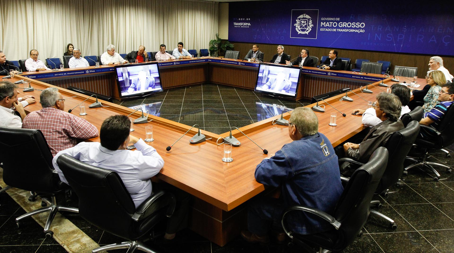 """FETHAB : Taques reforça importância do setor produtivo no """"Pacto por MT"""""""