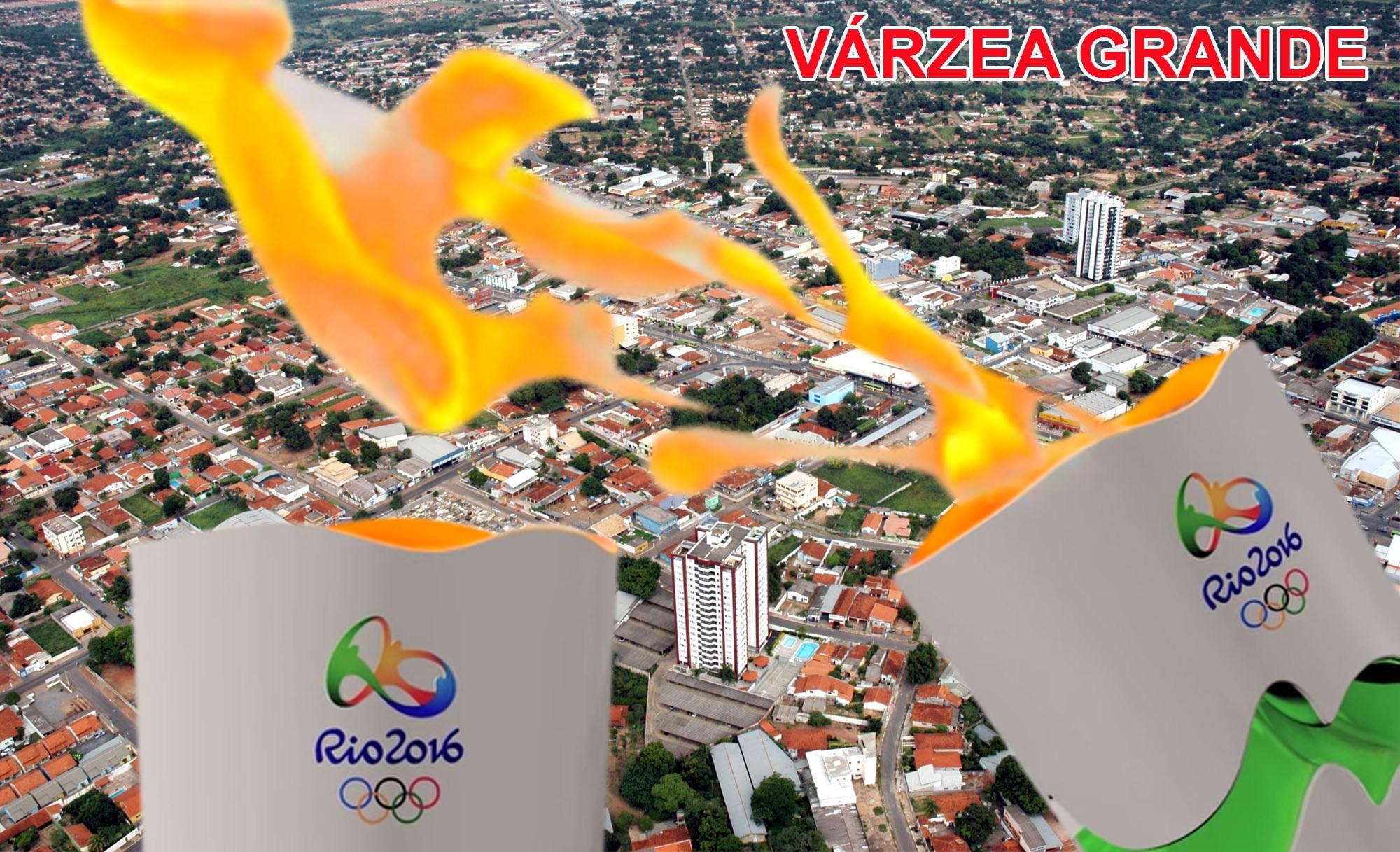 Tocha Olímpica chega amanhã às 10h em Várzea Grande