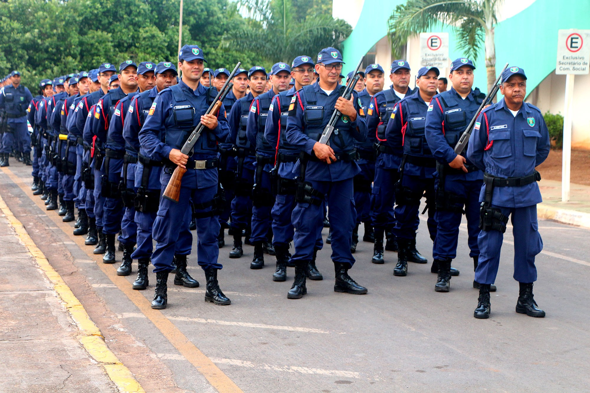 Várzea Grande: Secretaria de Defesa Social e PM firmam parceria para capacitação da Guarda Municipal