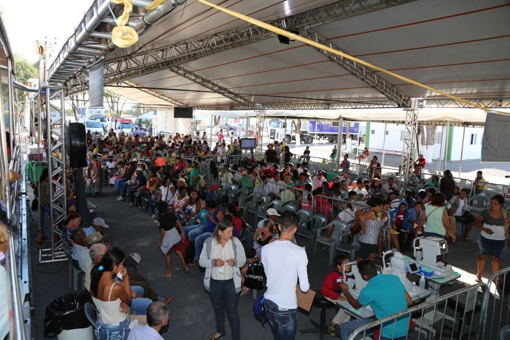 Caravana da Transformação começa manhã de sábado com mais de 2 mil atendimentos