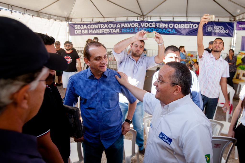 Governo abre espaço democrático na Caravana da Transformação