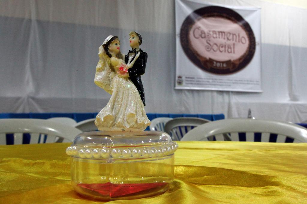 """Metade das vagas para o """"Casamento Social"""" já foram preenchidas"""