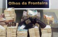 Três são presos com R$ 81 mil na fronteira de Mato Grosso com a Bolívia