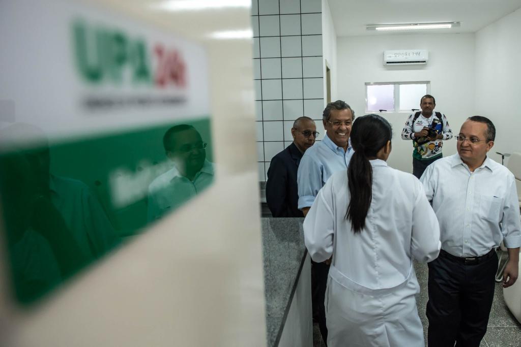 Governador Pedro Taques inaugura UPA do Ipase e reforma do Pronto-Socorro em Várzea Grande