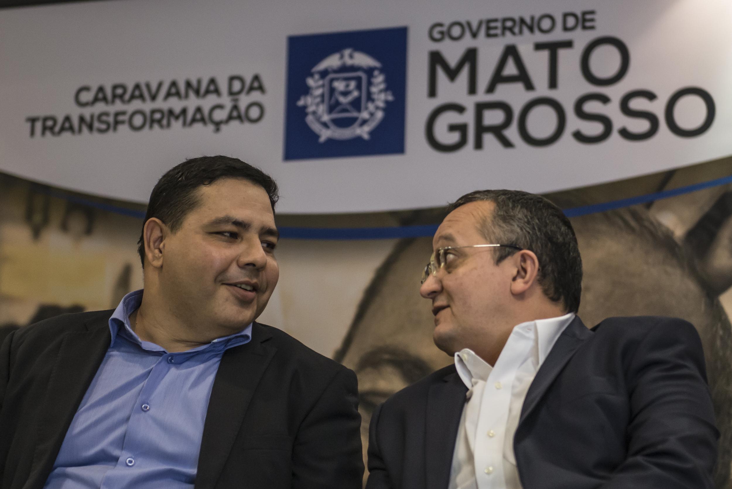 Caravana da Transformação é lançada pelo governador Pedro Taques