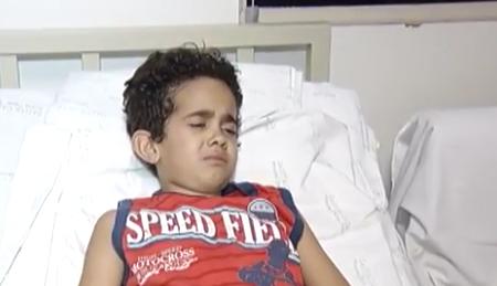 'É um milagre ele estar vivo', diz médico de menino baleado no coração