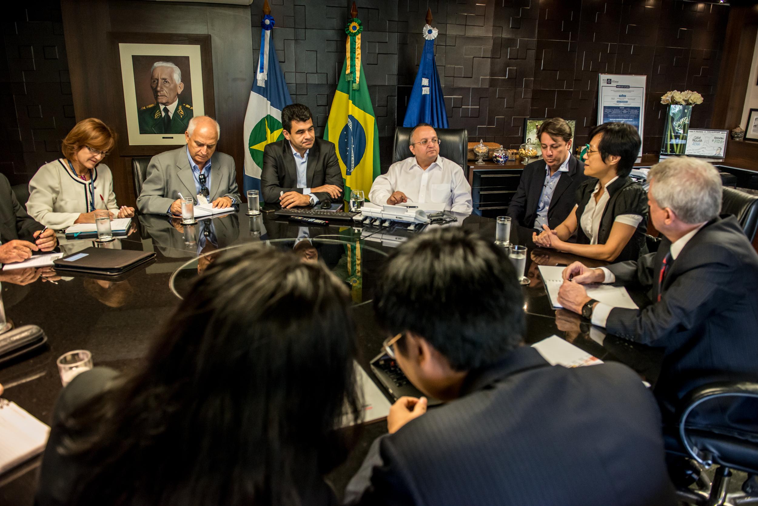 Delegação chinesa pede apoio de Mato Grosso para ferrovia bioceânica