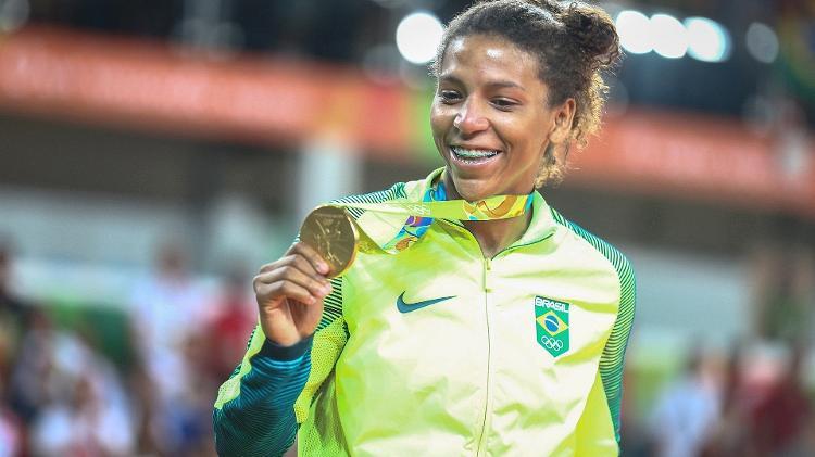 Pintou o 1º Ouro para o Brasil na Rio 2016