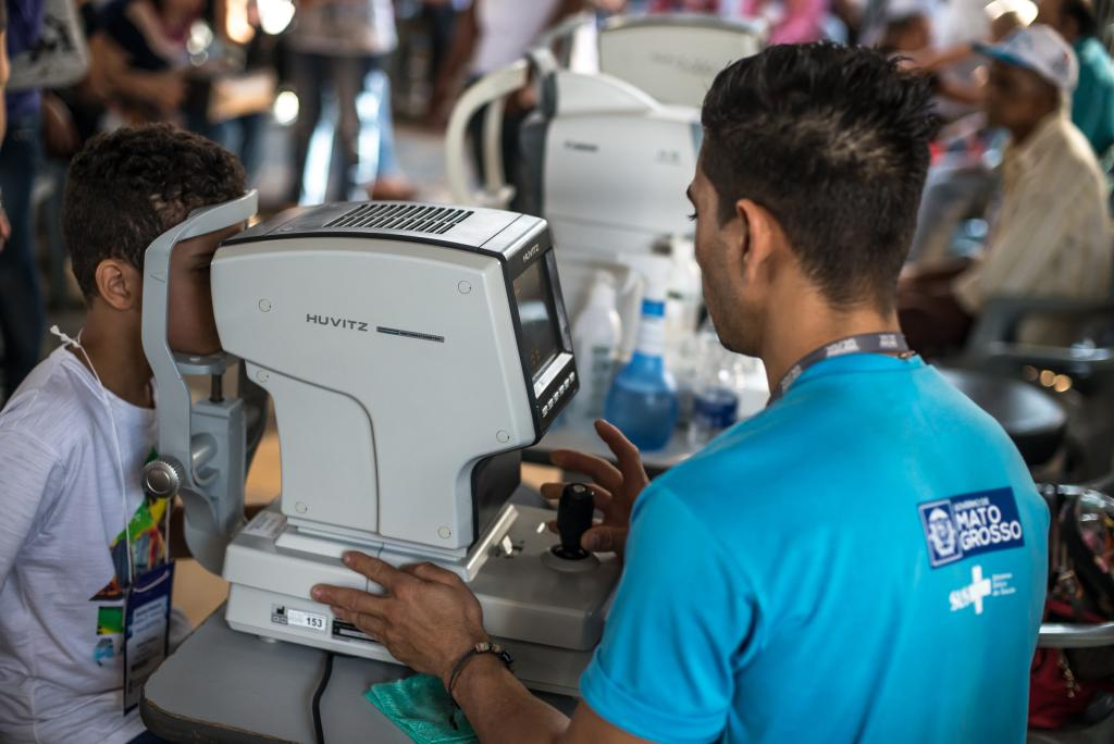 Caravana da Transformação já realizou 1.249 cirurgias oftalmológicas