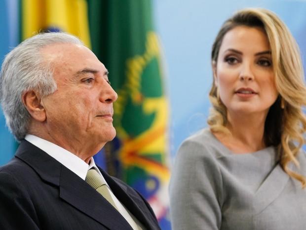 Primeira-dama Marcela Temer terá gabinete no Palácio do Planalto