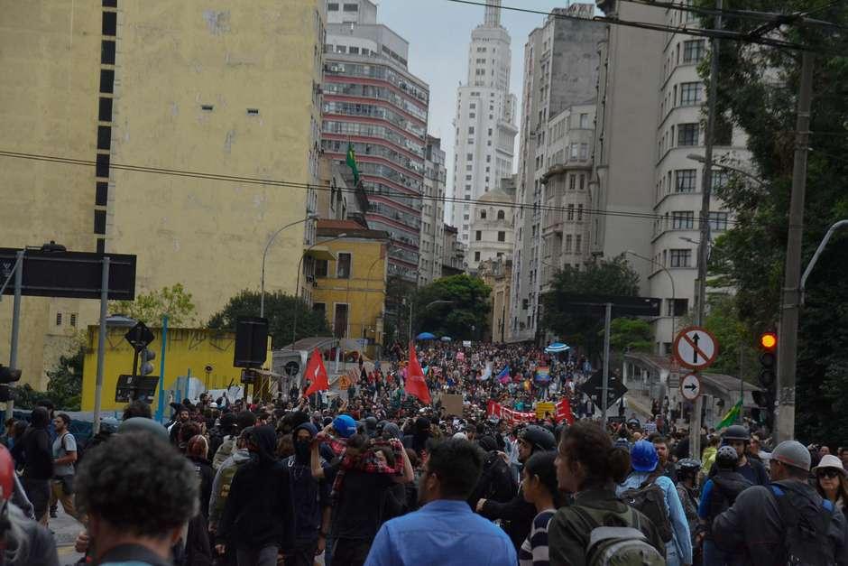 Protestos marcam Dia da Independência em todo o Brasil