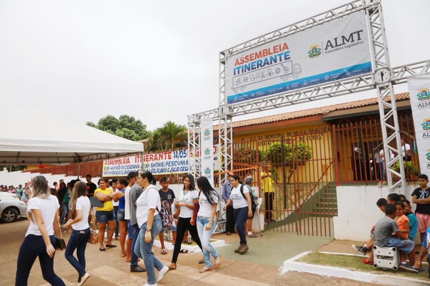Cidadania: Assembléia Legislativa Itinerante está em sua 6ª edição, em Diamantino