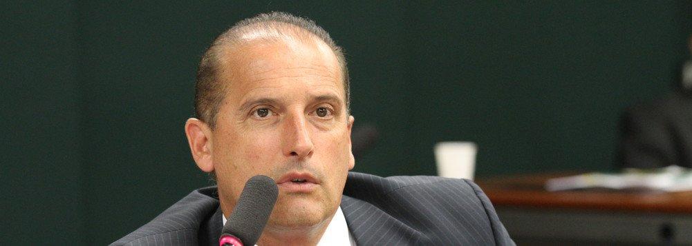 Congressistas estão acuados, diz Onyx Lorenzoni, relator das 'dez medidas'