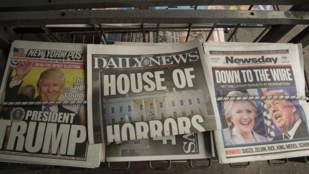Como imprensa dos EUA pode ter ajudado a eleger Trump, mesmo com cobertura negativa