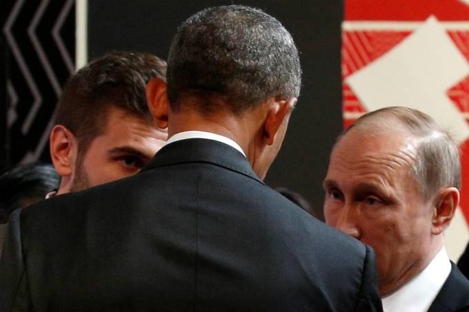 Em Lima, Obama e Putin têm conversa tensa sobre guerra na Síria