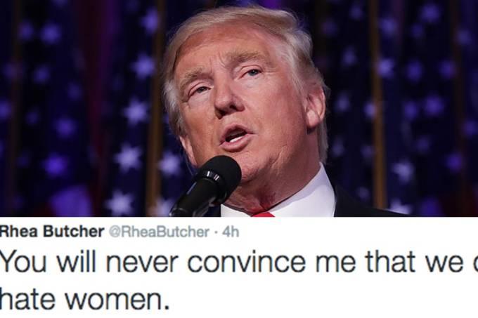 Americanas expressam em tuítes a indignação pela eleição de Trump